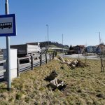Na Grobelnem do konca meseca dve novi avtobusni postaji