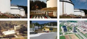 Pogled na objekte Zavoda RS za blagovne rezerve