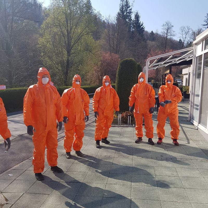 Šmarski prostovoljci gredo v Dom upokojencev pomagati prestavljati pohištvo (foto: FB Občine Šmarje pri Jelšah)