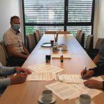 Podpis za gradnjo telovadnice v Zibiki