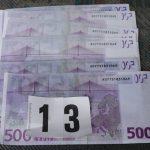 Pri Šmarčanu našli kup ponarejenih bankovcev (foto)