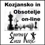 1. On-line šahovski turnir Kozjansko v letu 2021