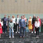 Sprejem najboljših učencev pri županu Občine Rogaška Slatina