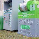 Ulične e-zbiralnike za stare elektronske aparate in baterije tudi v občinah KiO