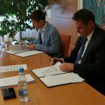 Podpisana pogodba za rekonstrukcijo kuhinje in gradnjo prizidka k OŠ Dramlje