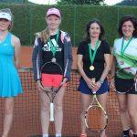 Občinsko prvenstvo Kozjega v tenisu za članice dobila Mojca Volavšek