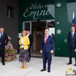 Razširjena in tehnološko prenovljena Hiša vin Emino odprla svoja vrata (foto, video)