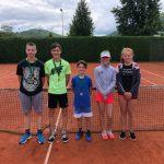 Znan zmagovalec drugega letošnjega poletnega teniškega turnirja za mlade v Kozjem