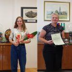 Županja občine Kozje gostila zlata maturanta in prejela zahvalno listino Slovenske vojske