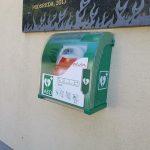 V Podsredi dobili še drugi javni defibrilator
