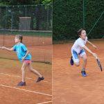 Na prvem avgustovskem turnirju mladih tenisačev zmagi za Leo in Florijana