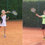 Na drugem avgustovskem turnirju mladih tenisačev zmagala Sienna in Žan