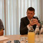 Župan Čakš s sodelavci predstavil kaj so že zgradili in kaj še bodo