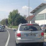 V Vrbnem nalet treh vozil