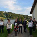 Na slovesnosti ob prazniku občine Šmarje so se s priznanji zahvalili ljudem iz prvih vrst boja proti koronavirusu