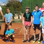 Na finalnem turnirju mladih tenisačev zmagali Rene, Sienna, Lan in Žan