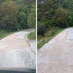 Nedokončana lokalna cesta Sladka Gora–Dolga Gora bo dokončana v naslednjih dneh