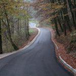 Obnovljeni cesti Jurg – Plat in odsek skozi naselje Nimno