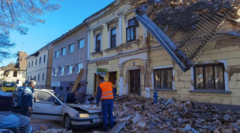 Tokrat Se Mocnejsi Potres Na Hrvaskem Ki Je Stresel Tudi Nase Kraje Foto Video Kozjansko Info