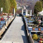 Poteka obnova poti na pokopališču Sveta Trojica v Rogaški Slatini