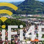 Vzpostavitev brezplačnega interneta na javnih mestih v občini Šentjur