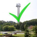 Župan Kidrič zadovoljen s potrditvijo stolpa na referendumu. Z rezultatom na svoj način zadovoljna tudi pobudnica referenduma
