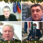 Božično-novoletna voščila županov 2020/2021: Občine Kozje, Podčetrtek, Rogaška Slatina in Rogatec (video)