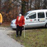 V Kozjem Prostofer opravil prvi prevoz (foto)