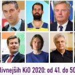 50 najvplivnejših KiO 2020: od 41. do 50. mesta