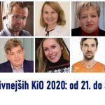 Vplivneži Kozjanskega in Obsotelja 2020: od 21. do 30. mesta