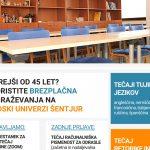 Ljudska univerza Šentjur vabi na brezplačna izobraževanja na daljavo