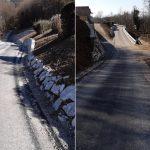 Obnovljen odsek ceste skozi Gabrovec pri Kostrivnici