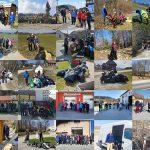 V občinah Kozjanskega in Obsotelja potekale obsežne čistilne akcije (foto)