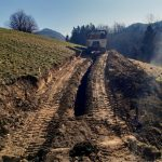 V občini Kozje pričeli z gradnjo povezovalnega vodovoda Osredek – Preska (foto)