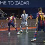 Odličen odpor Dobovca proti Barci premalo za polfinale lige prvakov