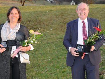 Aurora Nassib in Jožef Čakš. Foto Foto Zorin