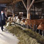 Minister za kmetijstvo na obisku v Šentjurju (foto)