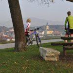 Rekreativni kolesarski izleti za družine in posameznike po Kozjanskem in Obsotelju: Šentjur in Dobje