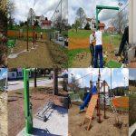 V občini Kozje zelo aktivni pri izvajanju projektov (ureditev površin za prosti čas, stojalo za popravilo koles, nove ceste, vodovod,…)