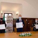 V Kozjem z ministrom Ciglejem Kraljem podpisali namero za izgradnjo doma starejših (foto, video)