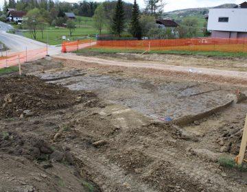 Arheološke raziskave na povezovalni cesti Dobrava