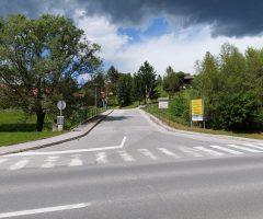 Križišče pri Kašči v Šmarju pri Jelšah