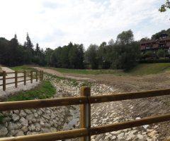 Prestavitev potoka izpod Barbare