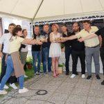Festival vina in čokolade 2021 tudi na prosto v Olimje pritegnil veliko obiskovalcev (foto in video)