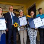 V Bistrici ob Sotli počastili občinske nagrajence in namenu predali nov gasilski dom (foto, video)
