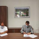 Podpisana pogodba za gradnjo športno-rekreacijskega parka v Kostrivnici (foto)