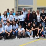 Najboljši učenci občine Kozje na sprejemu pri županji
