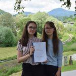 Raziskovalna naloga dijakinj Šolskega centra Rogaška Slatina ocenjena z zlato diplomo in uvrščena na državno tekmovanje