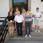 Župan Dobja sprejel najuspešnejše devetošolce
