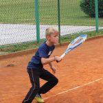 Na prvem letošnjem turnirju mladih tenisačev zmagi za Reneja in Florijana